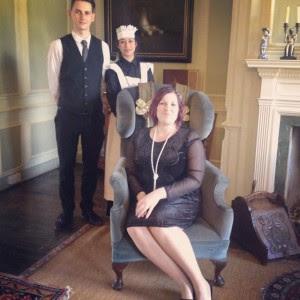 Miss Sue Flay Downton Abbey Afternoon Tea At Byfleet Manor