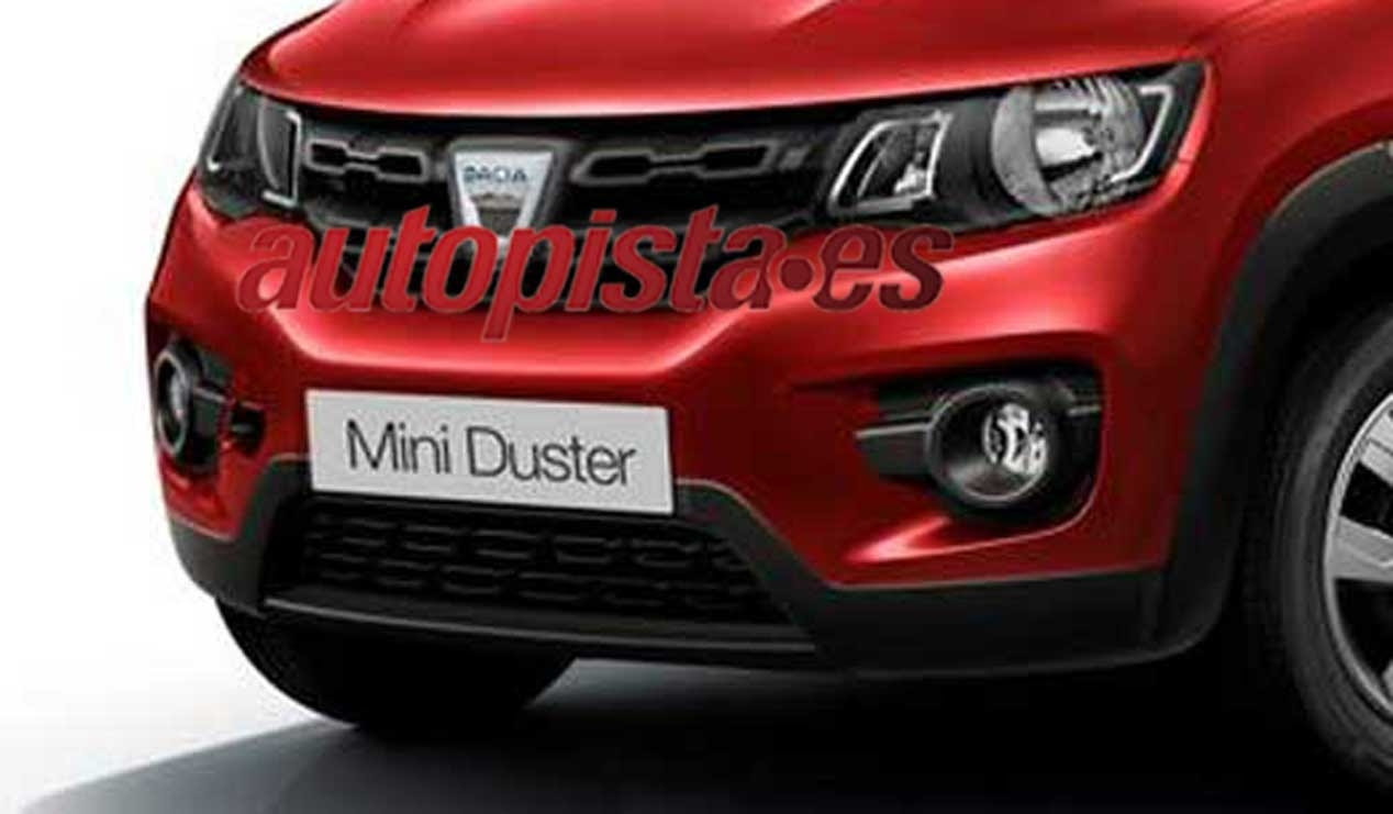 2018 Dacia Duster is going to get quite a few visual updates over it ...