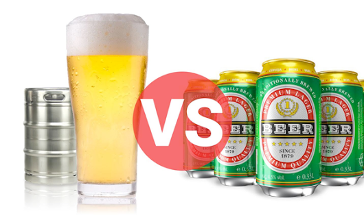 Why Choose Draft over Bottles or Cans?