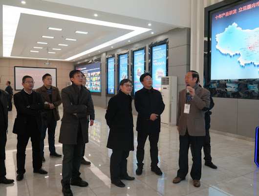 Experts Visited Headquarter of SalvationDATA