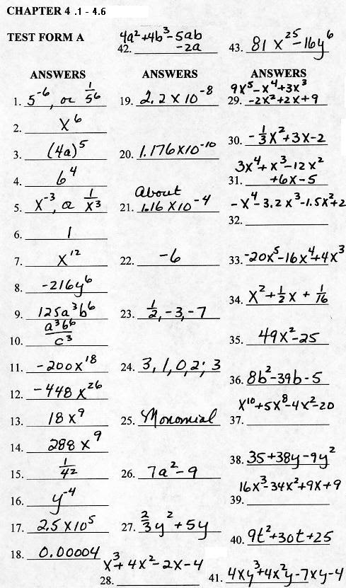 50 FREE CHAPTER 1 TEST FORM 2C ANSWERS PDF DOWNLOAD DOCX ...