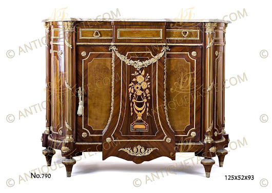 Louis XVI Meuble D'Appui after the model by Jean Henri Riesener Circa 1778