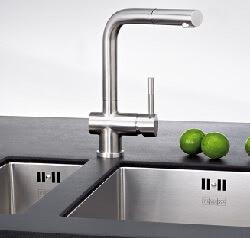 ᐅ Küchenarmatur - Tipps zu Blanco, Grohe und Franke Wasserhahn