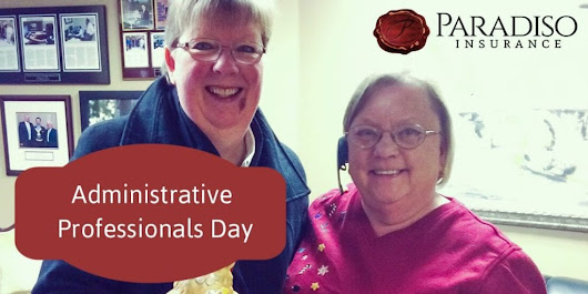 Administrative Professionals Day | Paradiso Insurance