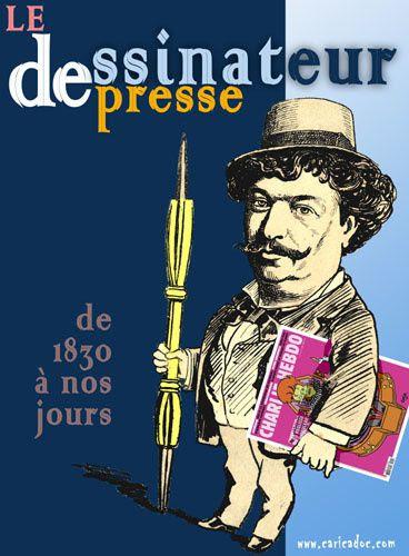 Le dessinateur de presse, de Daumier à Charlie : exposition à louer