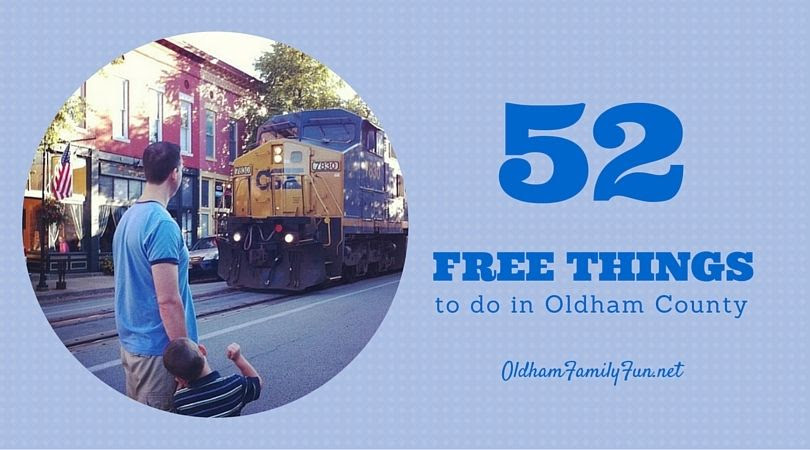 Free events and things to do with kids in Oldham County