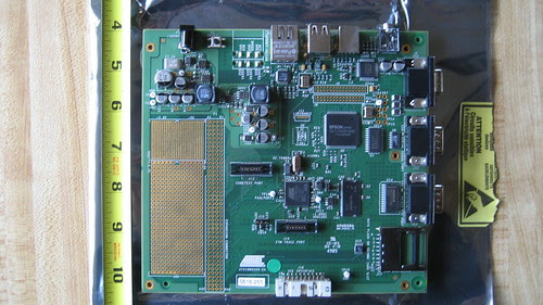 Atmel AT91RM9200-EK Close Up