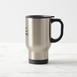 Fix Facts First Travel Mug