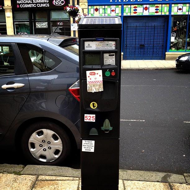 Probably won't survive #parkingmeter #love #hearts