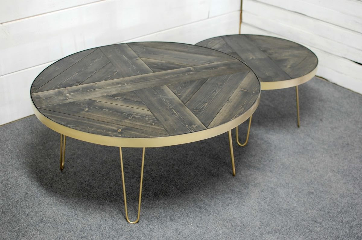 Mid Century Nesting Coffee Tables • Southern Sunshine
