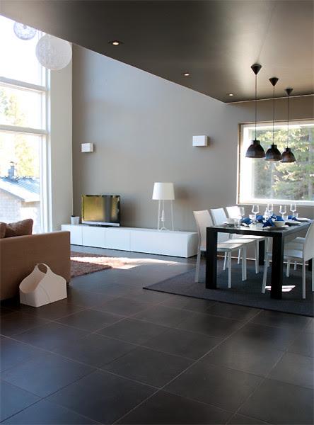 Minimalist interior with earth tones - Contemporary ...