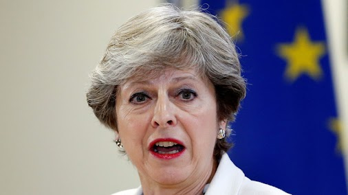 * Theresa May always screams to get out of the EU. Until today, she is still screaming!! 😲😨😩  - For...