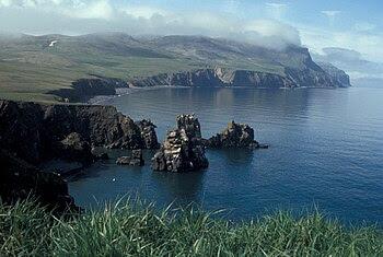 English: Hall Island, Bering Sea, Alaska