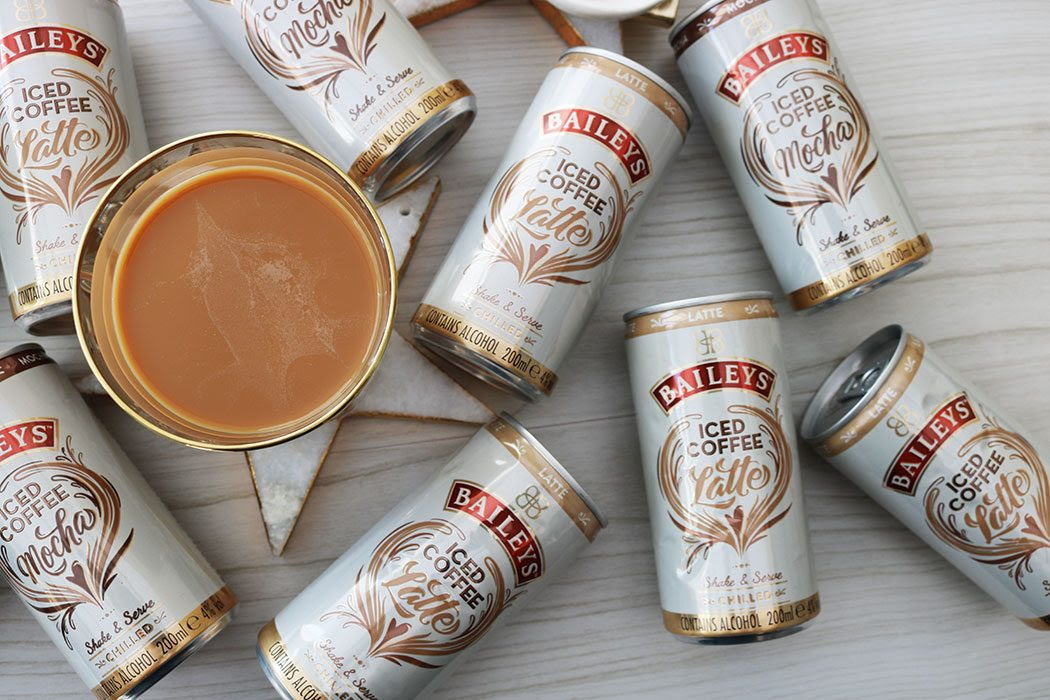 New Launch Baileys Iced Coffee Cans Lifestylelinked Com