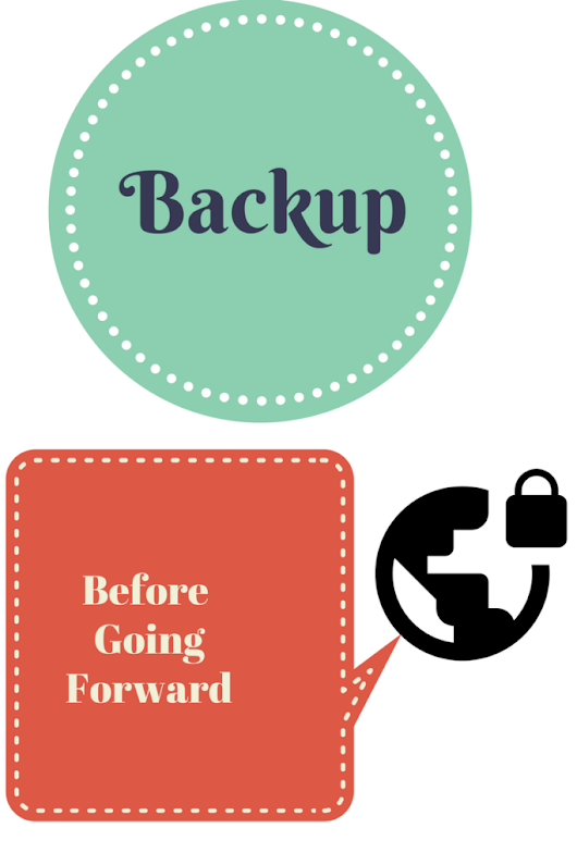 Tech Tuesday: Backup Before Going Forward