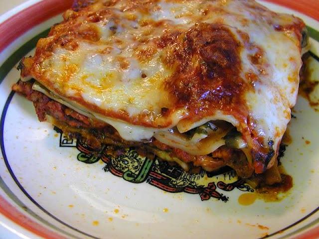 Lasagne vegetarisch ovenrecept