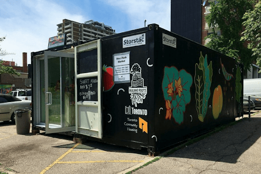 Shipping Container Market Pops up in Toronto -