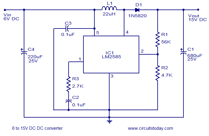 Cirut Dc To Dc Boost Converter – Home Exsplore