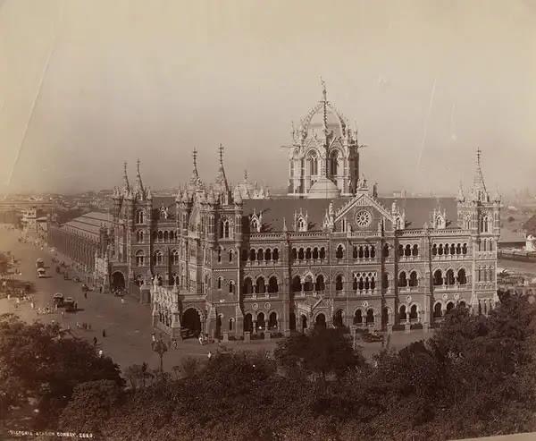 Victoria Station, Bombay (Mumbai) - 1870