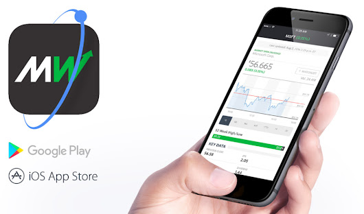 Built with Ionic: MarketWatch