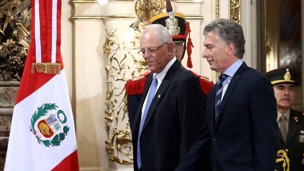 Macri recibió a su par de Perú, quien participó del Foro Iberoamericano