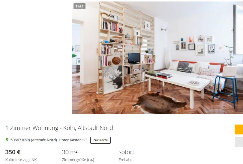 frank aachen 1 zimmer wohnung k ln altstadt nord 50667. Black Bedroom Furniture Sets. Home Design Ideas