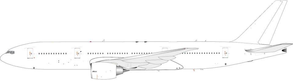 JC Wings, Very Limited Highly detailed die cast model Blank Boeing ...