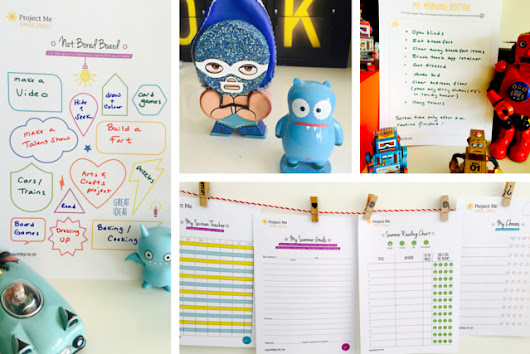 Summer Planning for Parents and Kids - Project Me for Busy Mothers
