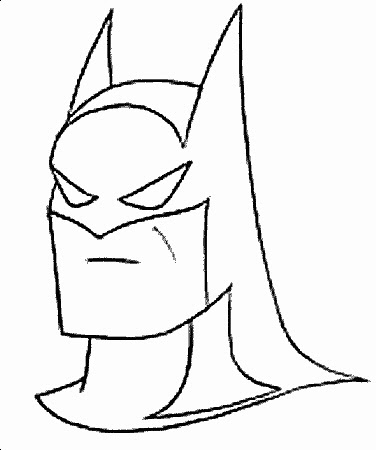 kleurplaten nl kleurplaat batman logo