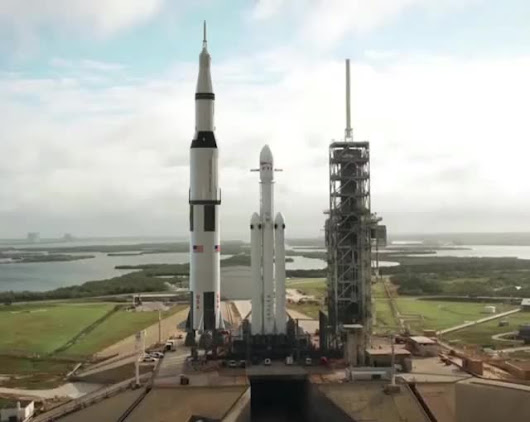 falcon heavy vs saturn 5 - photo #9