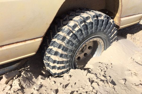 Tire Test Maxxis Trepador M8060 Bias Ply Jungle Fender Flares Best 4x4 Flares