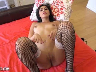 Audrey Royal Strips Her Maid Outfit To Use A Dildo To Orgasm