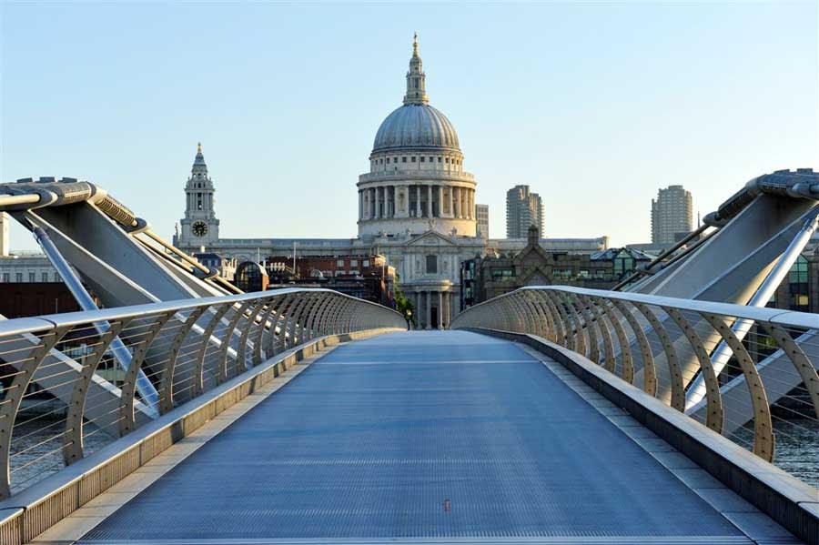 Risultati immagini per millennium bridge