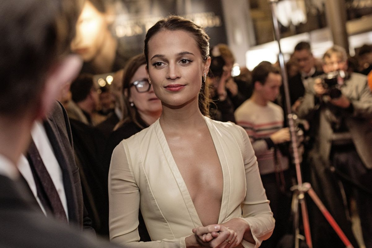 ALICIA VIKANDER at The Danish Girl Premiere in Copenhagen 02/02/2016