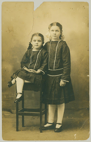 RPPC Two Girls
