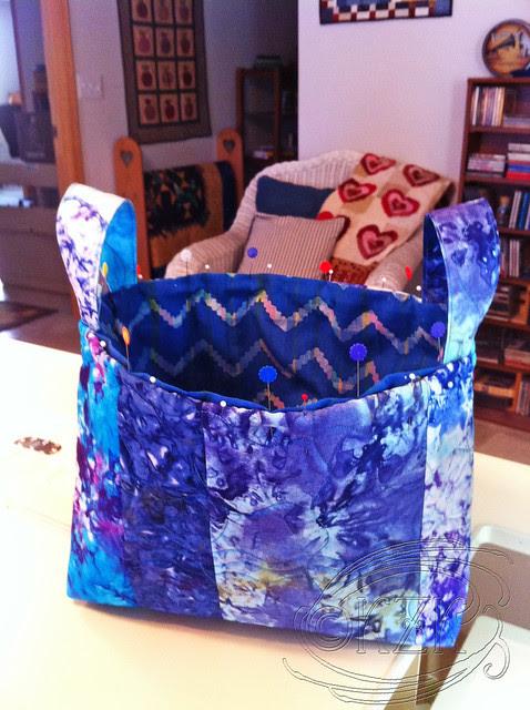 IMG_4165 Large Fabric Basket