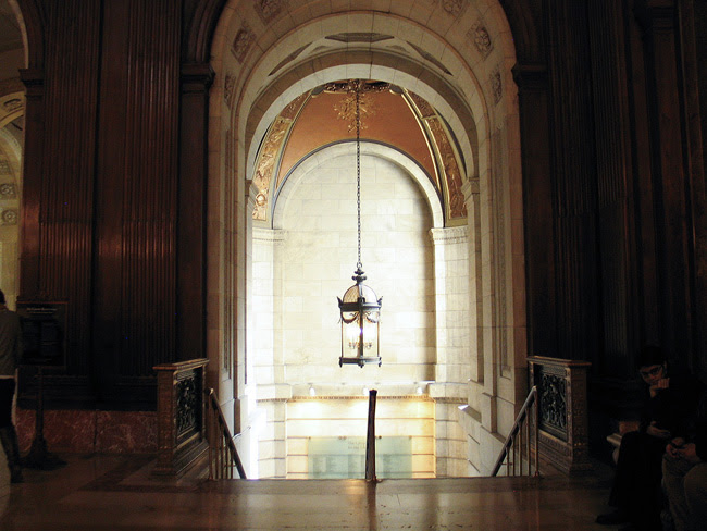 New York Public Library, Upper Stair Hall