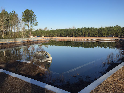 Designing Retention Pond Lakewalls in Jacksonville, NC