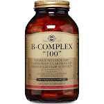 Solgar B-Complex 100, Vegetable Capsules - 250 count