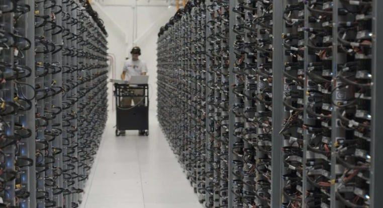 Google server farm
