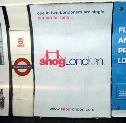 Snog London Tube Ad