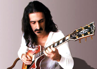 Frank Zappa. He was a superb guitar player.
