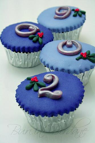 Christmas Cupcake 2009