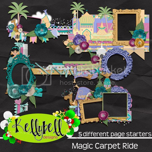 Magic Carpet Ride Page Starteres