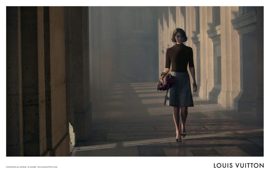 louis vuitton3 Arizona Muse Takes Flight for Louis Vuittons L'invitation au Voyage Campaign by Inez & Vinoodh