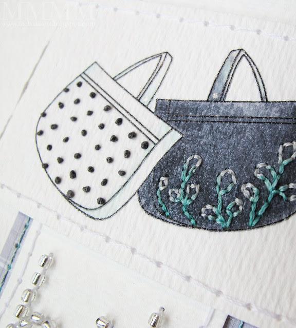 Amber Ink purse image detail
