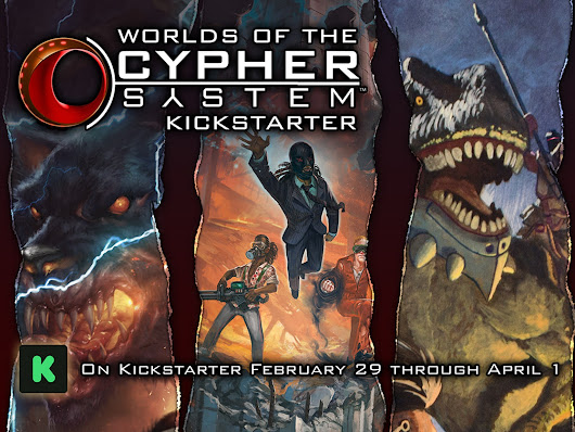 Worlds of the Cypher System by Monte Cook Games —  Kickstarter