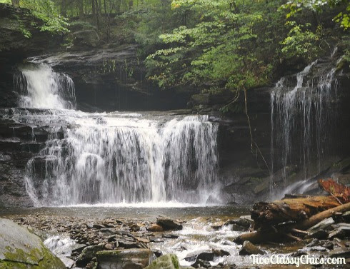 Hiking and Camping in Ricketts Glen State Park - The Classy Chics