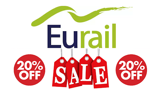 EXTRA 20% OFF + 50% OFF Eurail Pass Discount Code 2016-2017