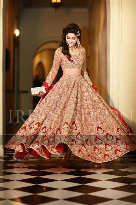 New Barat Dresses Designs For Wedding Brides 2019